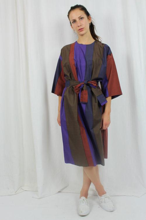 Vintage Marimekko Kleid gestreift