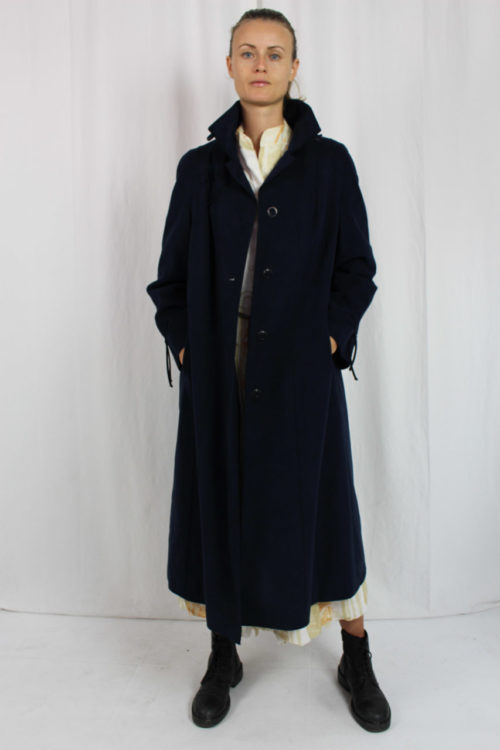 Mantel blau Second Hand