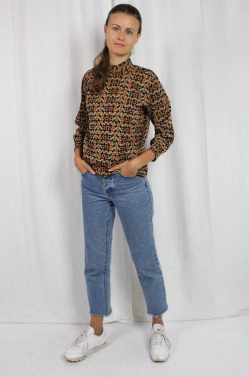 Pullover braun schwarz Online kaufen