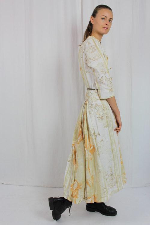 Vintage Kleid pastell selbst genäht