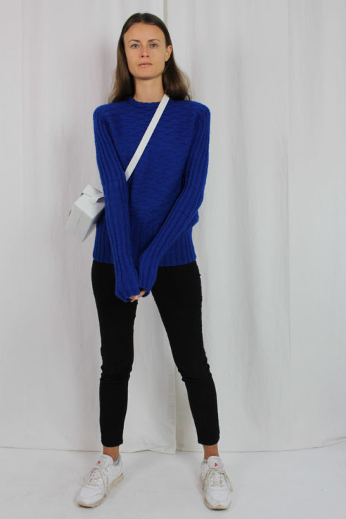 Vintage Pullover 70er Jahre handgestrickt