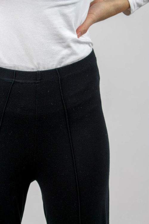 Hose schwarz Steg