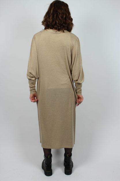 Kleid Midi beige