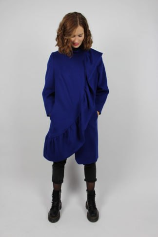 Mantel Damen Blau