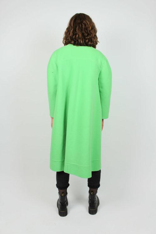 Mantel grün offen