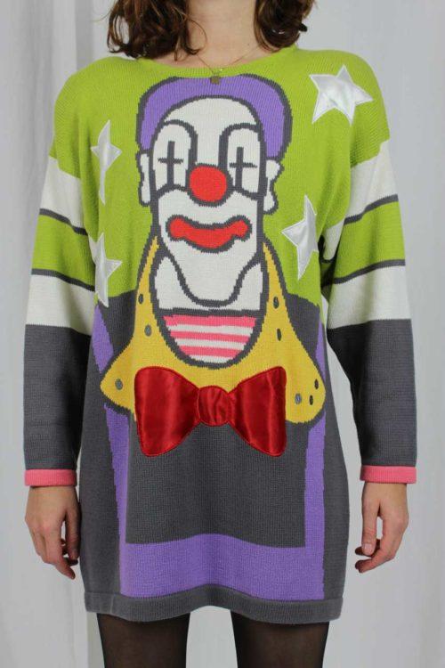 Pullover 90er Jahre mit Motiv