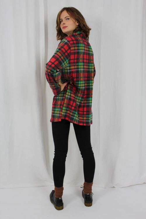 Pullover Schottenmuster