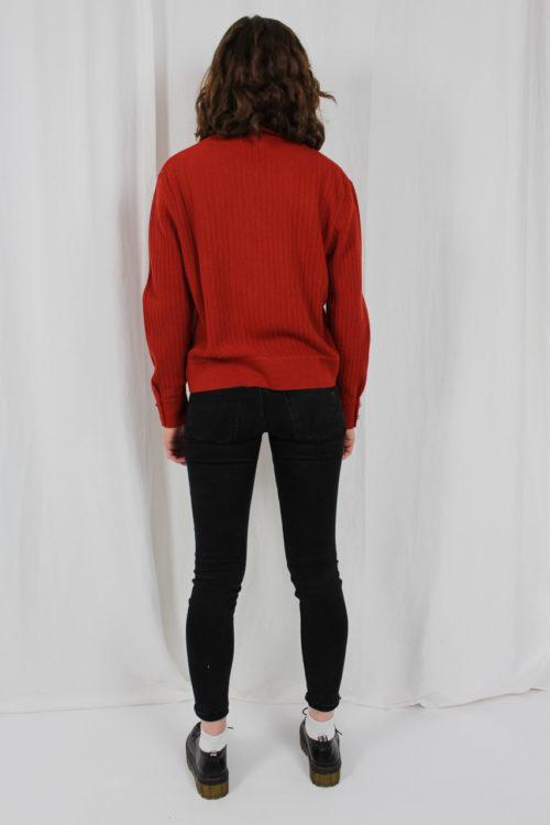 Pullover kurz orange