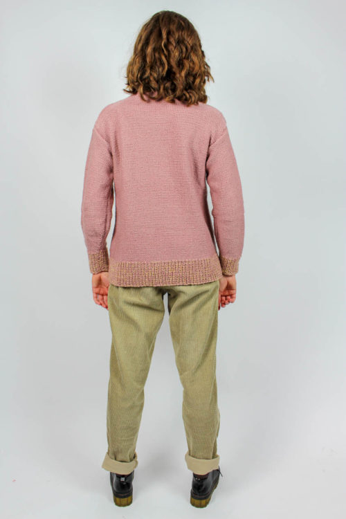 Pullover rosa Second Hand