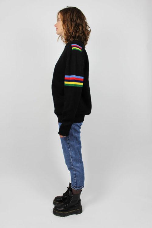 Pullover schwarz Second Hand