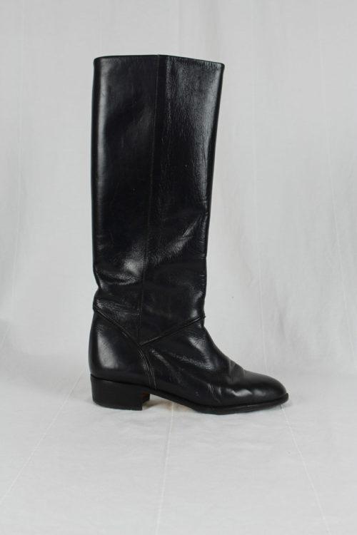 Stiefel hoch Leder