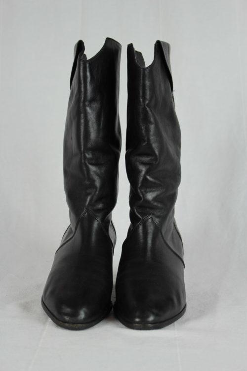 Stiefel schwarz Absatz