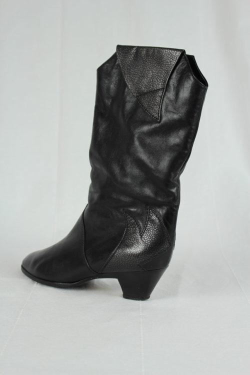 Stiefel schwarz Second Hand
