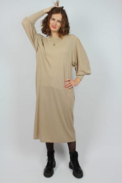 Vintage Kleid Beige