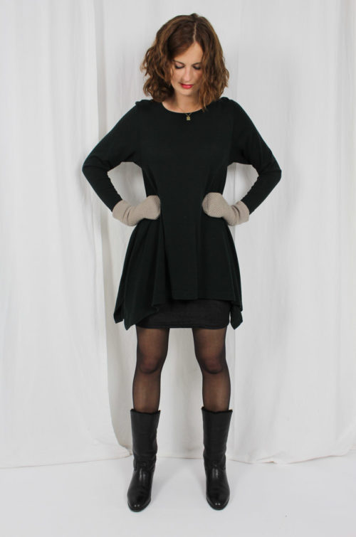 Vintage Kleid Khaki