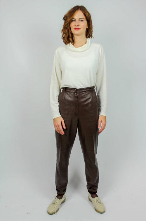 Vintage Lederhose braun