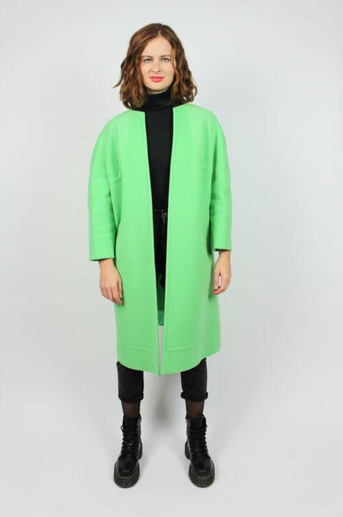 Vintage Mantel Grün