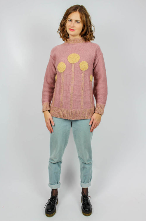 Vintage Pullover rosa