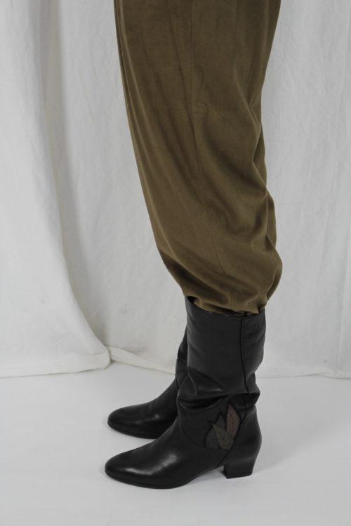 Vintage Stiefel Schwarz