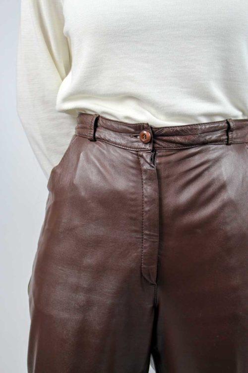 braune Lederhose Secondhand