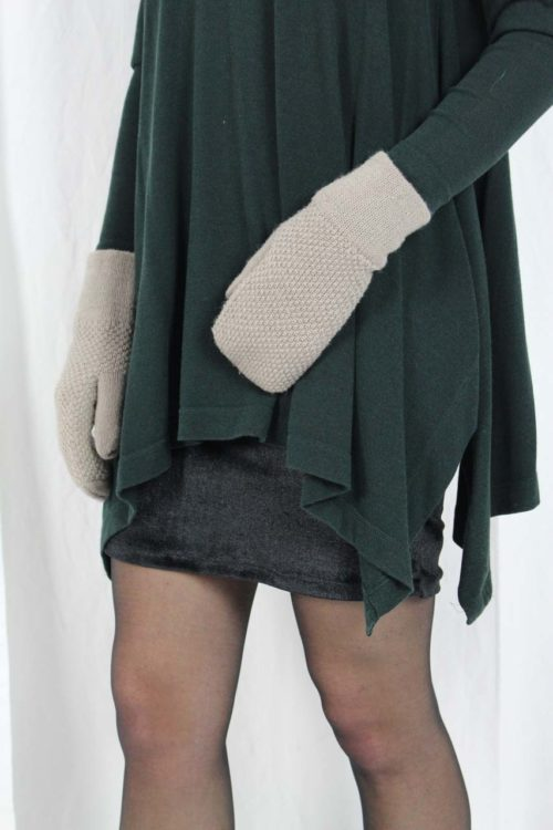 grünes Langarmshirt Second Hand