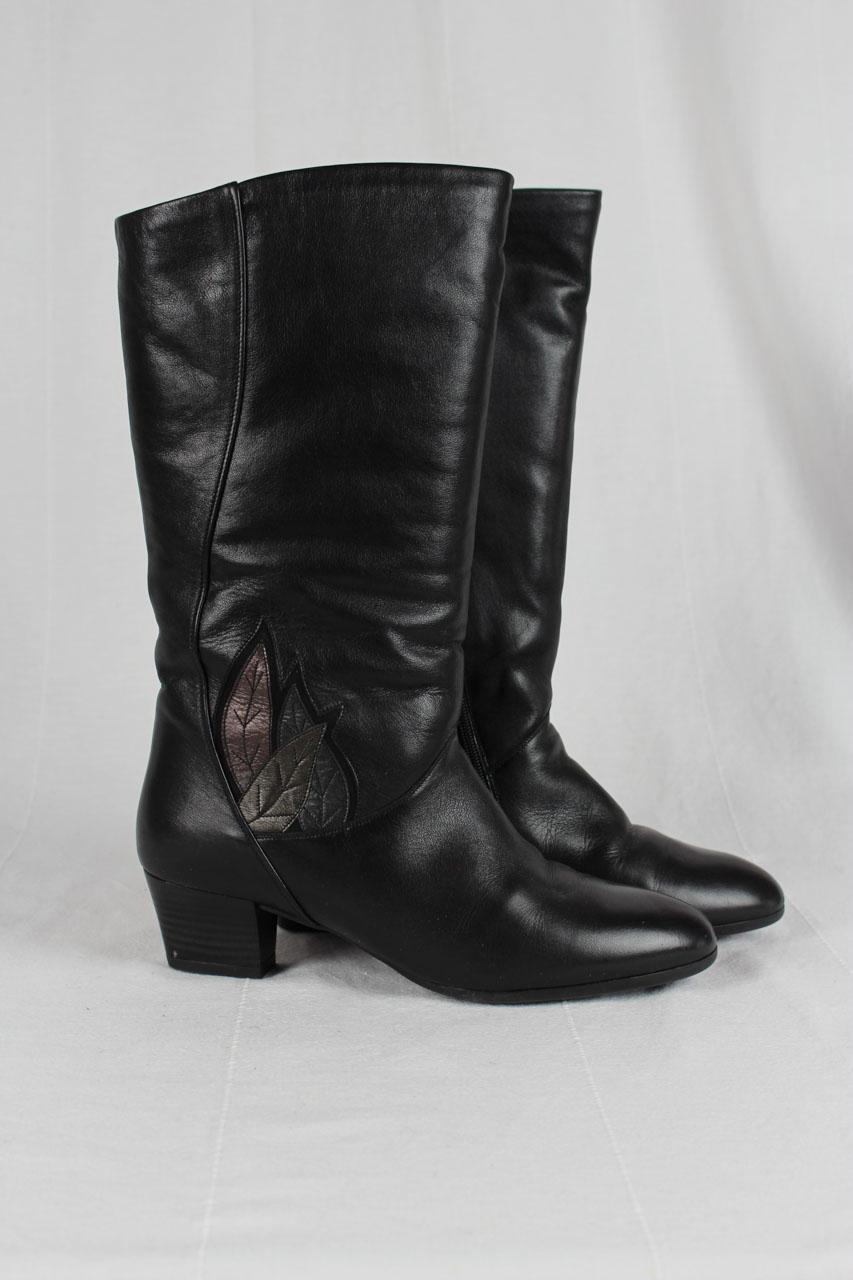 Stiefel schwarz gefüttert