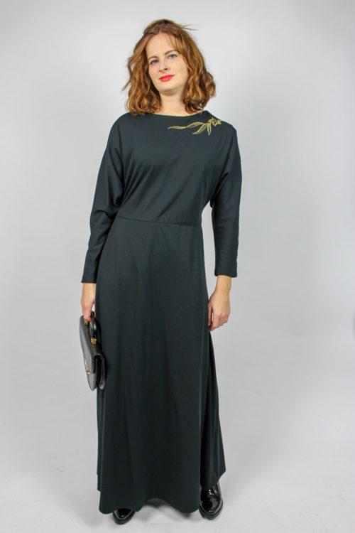 Abendkleid schwarz Secondhand