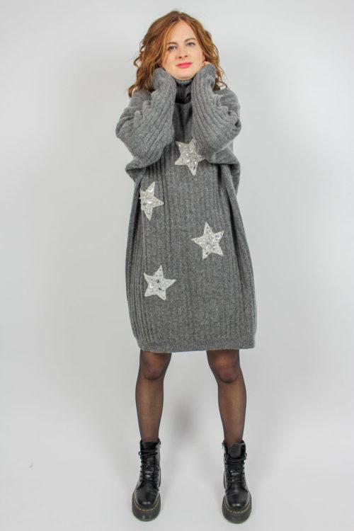 Damenpullover grau