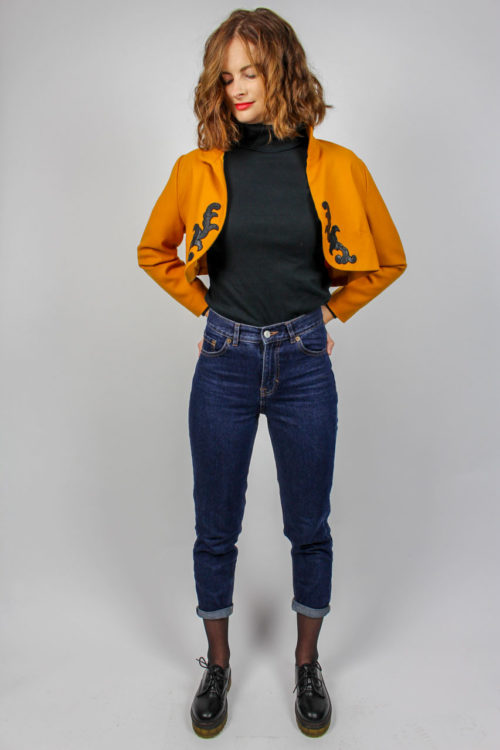 Jacke kurz orange Online kaufen