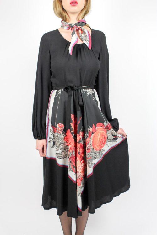 Kleid midi schwarz