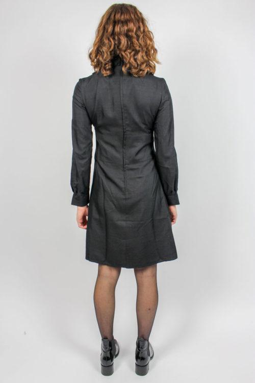 Kleid schwarz 60er Jahre