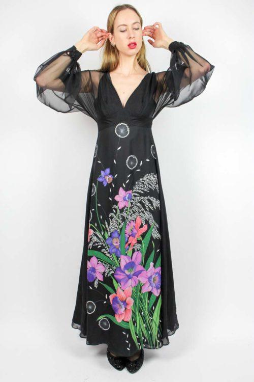 Kleid schwarz Secondhand