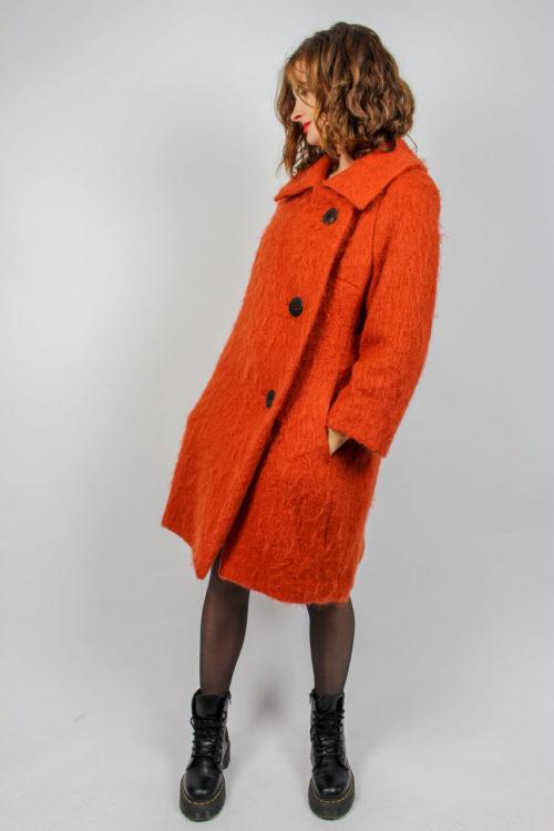 Mantel Filzstoffartig