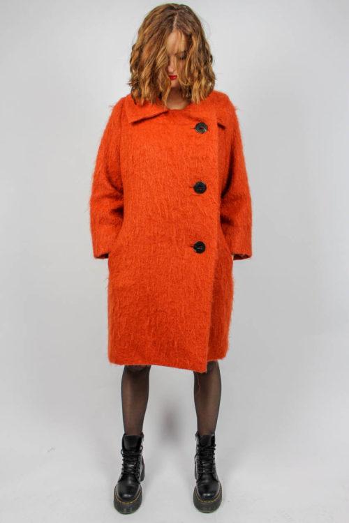 Mantel Orange Second Hand