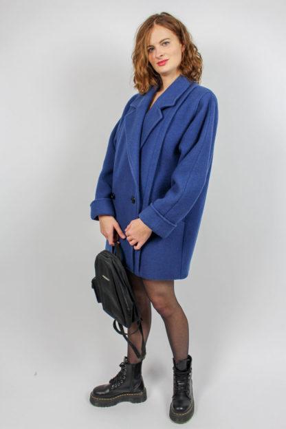 Mantel blau Secondhand