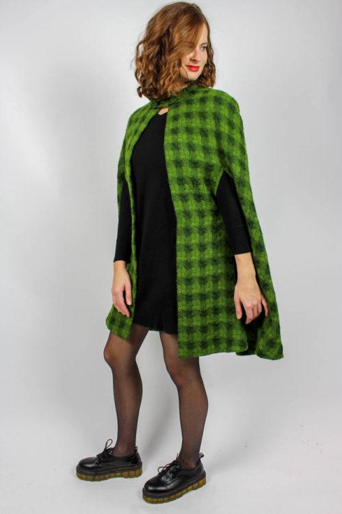 Mantelcape grün