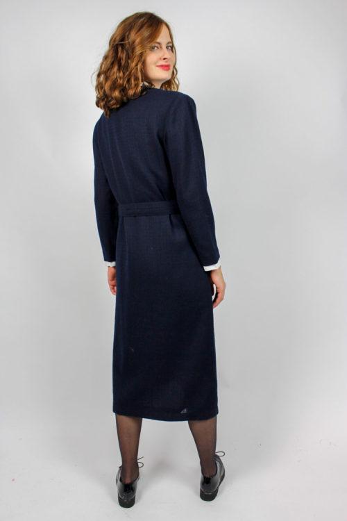 Mantelkleid dunkelblau
