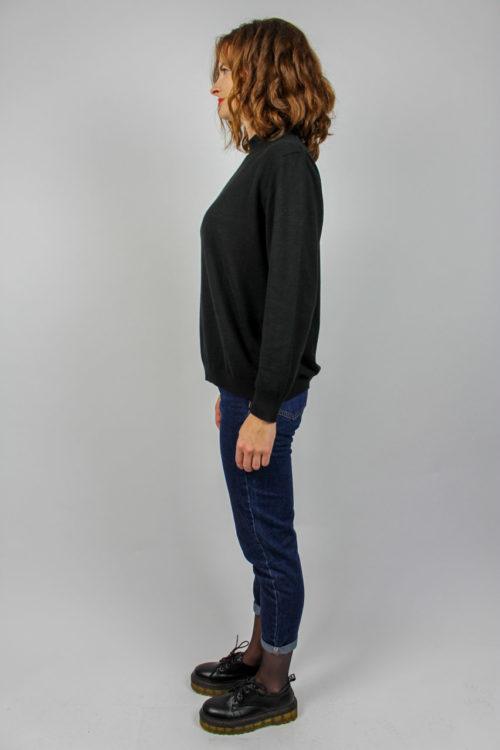 Pullover schwarz langarm
