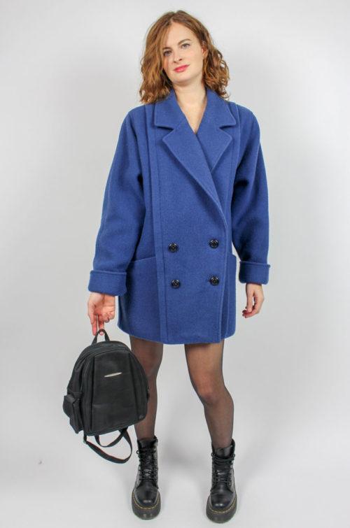 Vintage Jacke blau