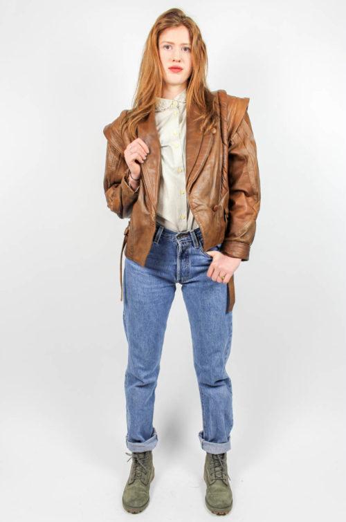 Vintage Lederjacke 80er