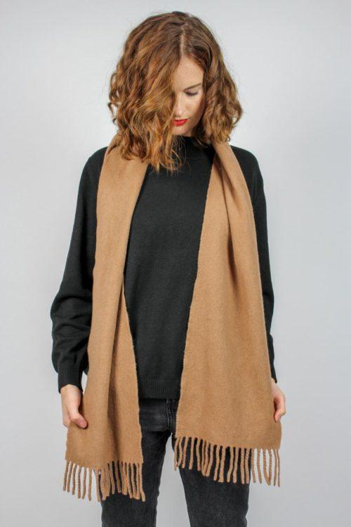 Vintage Schal beige