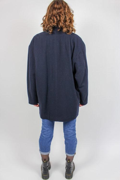 blaue Jacke Secondhand