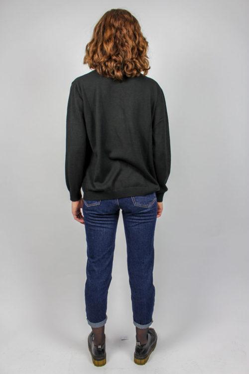 schwarzer Pullover Damen