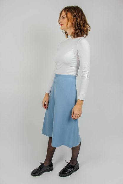 A-Linienrock blau