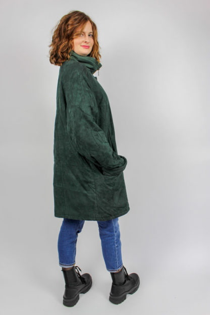 Damenmantel grün Online