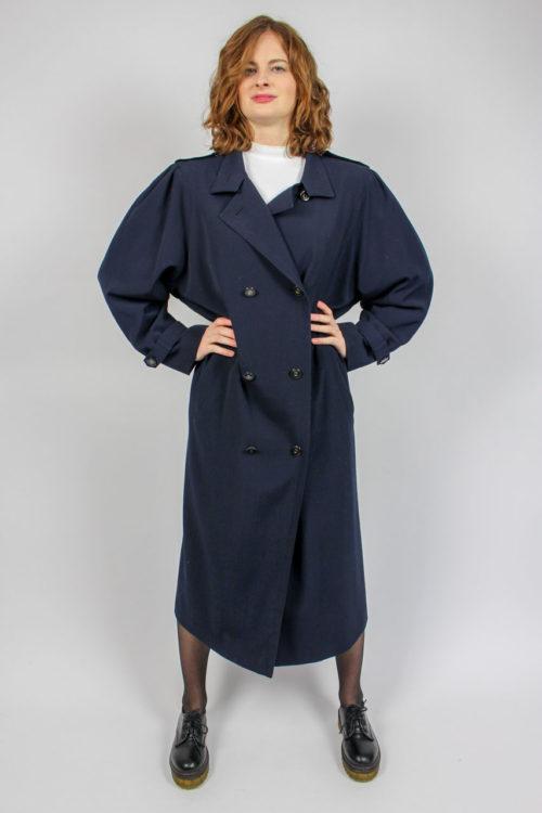 Vintage Mantel blau