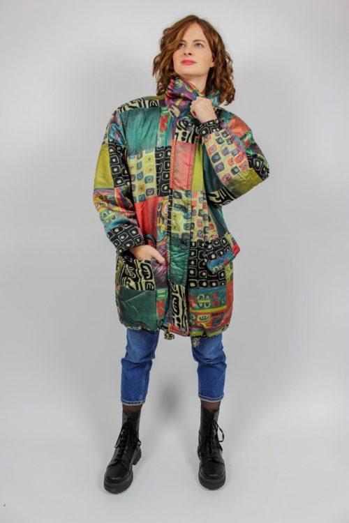 Vintage Mantel bunt