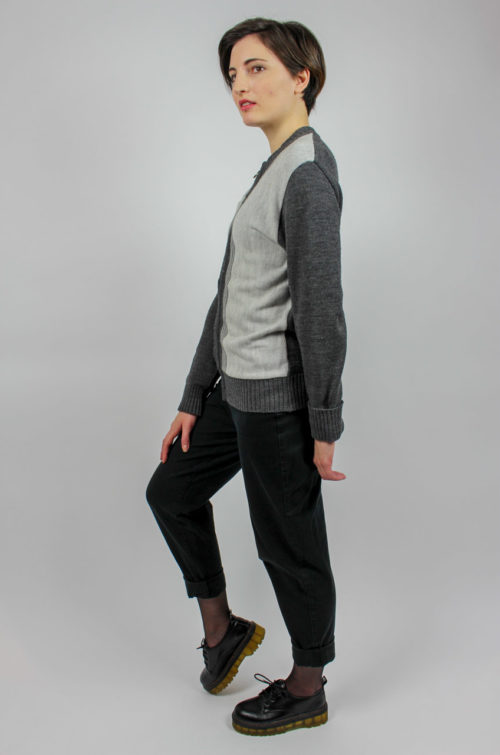 Vintage Strickjacke Damen