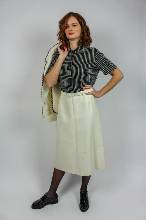 Vintage Zweiteiler Weiß