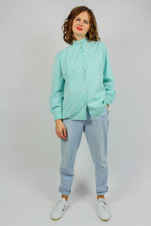 Bluse blau Online kaufen